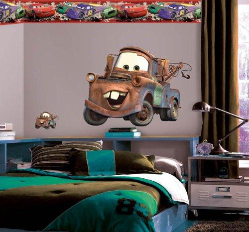 Wallhogs Disney Cars 2 Mater Room Makeover Kit 1