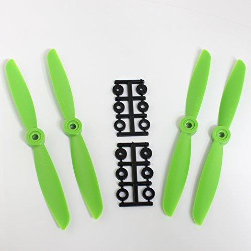 HQ Prop 6x45 Propeller Green 4 pcs2 pcs direct drive 2 pcs direct drive pusher iFLY wholesale
