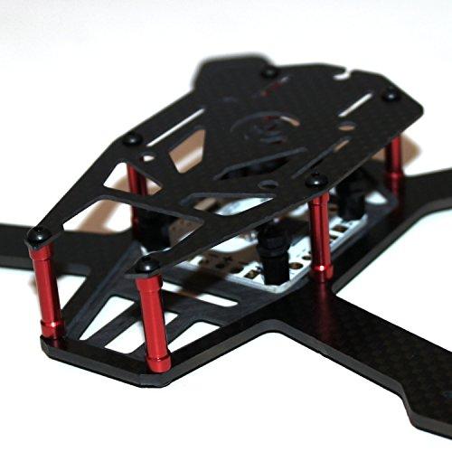 iFLY H150mm Mini Full 3K Carbon Fiber FPV Quadcopter Frame Kit unibody new design