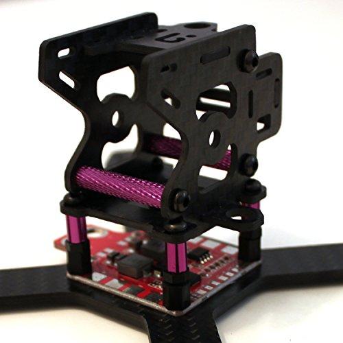 iFLY RX130mm Mini Full 3K Carbon Fiber FPV Quadcopter Frame Kit unibody new design
