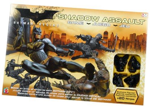 Batman Begins - Shadow Assault Game By Mattel