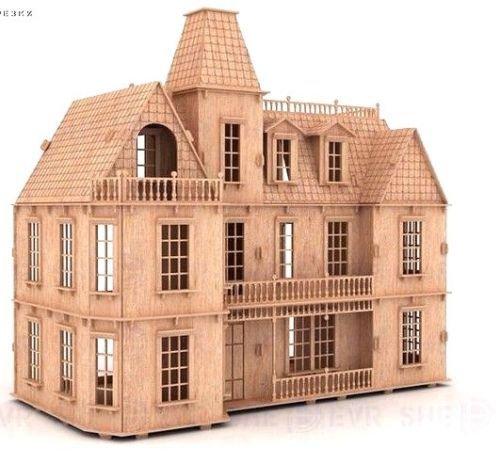 Boston house 3D Woodcraft Hobby Wooden Model Laser Cut Puzzle Kit