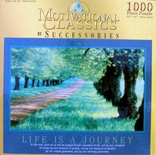 1000pc Motivational Classics Puzzle Life is a Journey