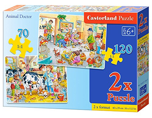 Castorland 2 Animal Doctor Jigsaw Premium Puzzle