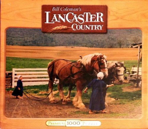 Lancaster Country 1000 Piece Premium Puzzle - Lenna Barbara
