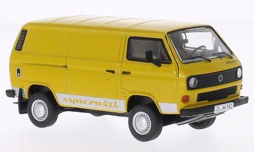VW T3b box wagon yellow Model Car Ready-made Premium ClassiXXs 143
