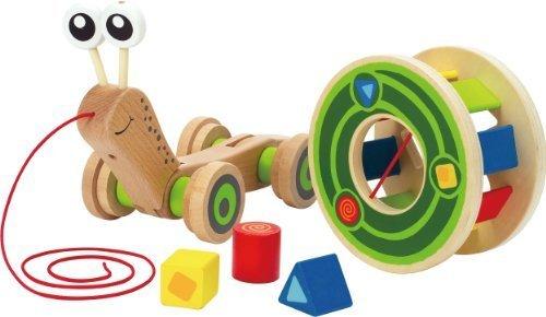 Hape Walk-A-Long Snail Toy Toy Kids Play Children by Games 4 Kids
