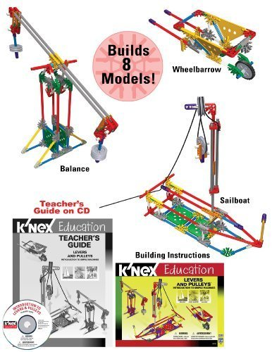 KNEX Education - Intro To Simple Machines Levers and Pulleys Toy Kids Play Children by Games 4 Kids