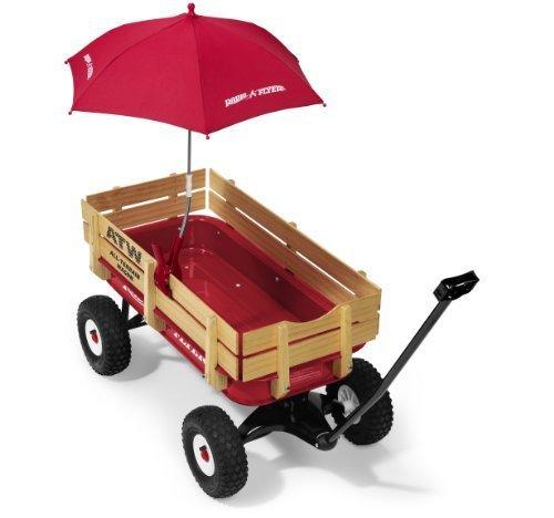Radio Flyer Wagon Umbrella Toy Kids Play Children by Games 4 Kids