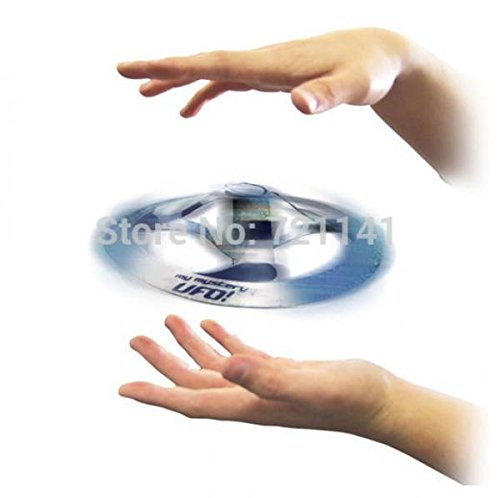 1PC Amazing Mystery UFO Floating Flying Disk Kids Cool Magic Trick Saucer Toy