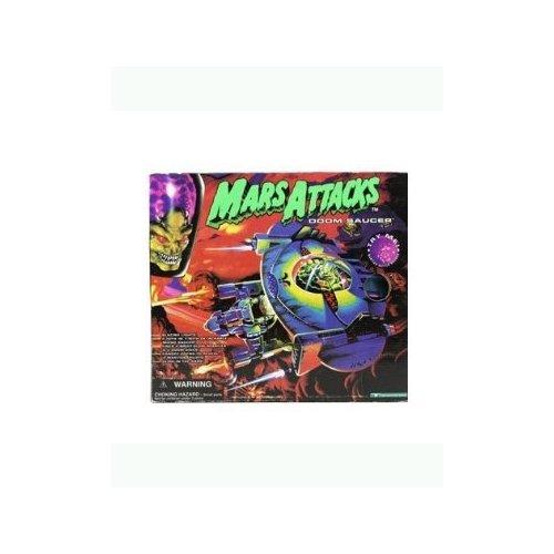 Mars Attacks Trendmasters Doom Saucer Toy