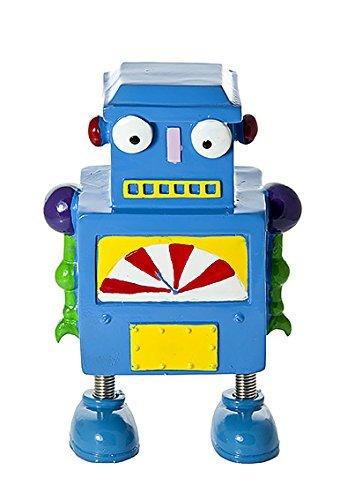 Kids Blue Robot Coin Bank Piggy Bank Money Bank Gift for Boys