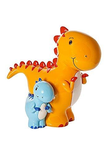 Kids Mummy and Baby Dinosaur Piggy Bank Money Box Baby Boy Gift