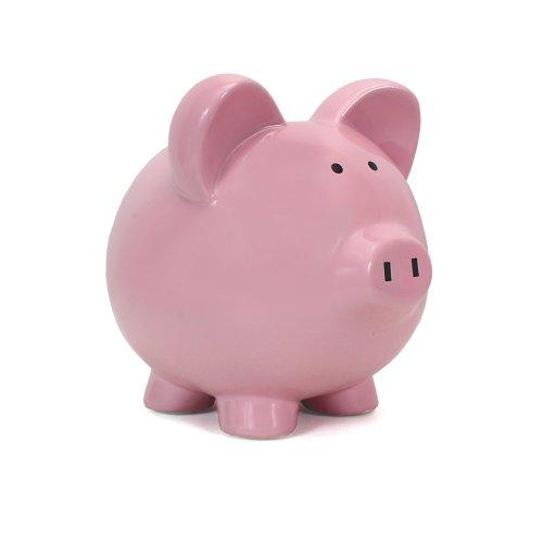 Child to Cherish Large Piggy Bank Pink