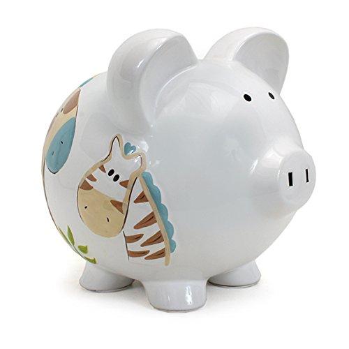 Child to Cherish Piggy Bank Jungle Jack Large