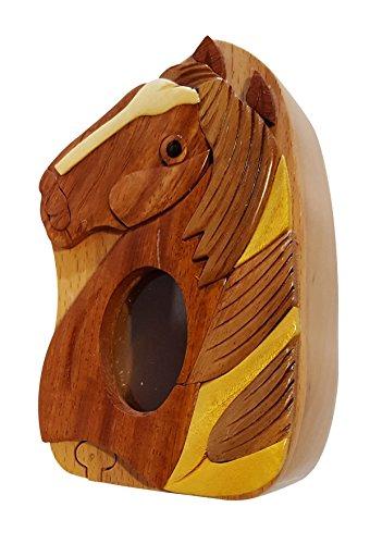 Handmade Horse Pony 1 Wooden Money Box Piggy Bank 4746