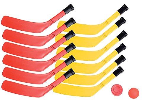Champion Sports Scooter Board Hockey Set Multi