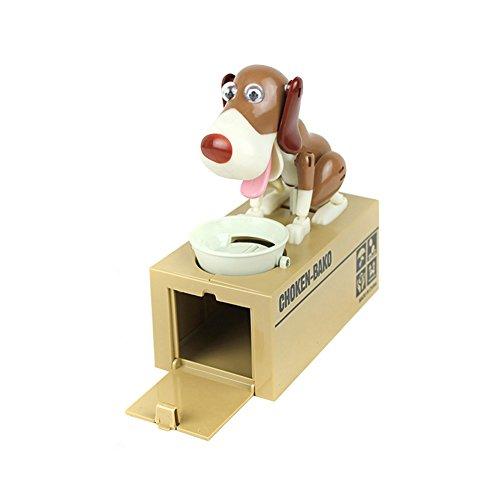 LOBZON Stealing Coin Bank Money Box Piggy Bank Cute Puppy