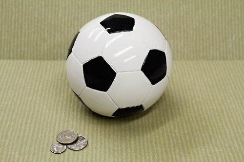Soccer Ball Sports Themed COIN Piggy Bank