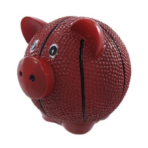 Funny Basketball Pig Piggy Bank Sports