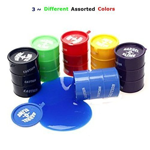 3 ~ Large 5oz Barrel of Slime Three Assorted Colors Barrel of Slime ToyBOS3 by Barrel O Slime