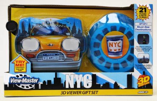 Basic Fun NY ViewMaster Taxi Gift Set Popular Destinations