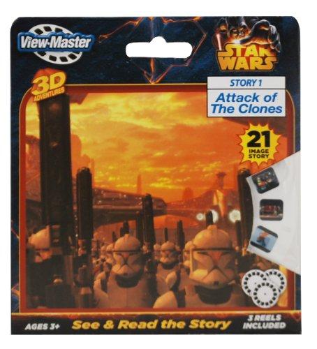 Basic Fun ViewMaster Star Wars 3 Reel Set