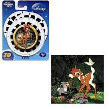 ViewMaster - Disneys Bambi 3D Disks - 3 Reel Set by 3Dstereo ViewMaster