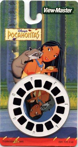 ViewMaster- Disneys Pocahontas - 3 Reels on Card - NEW