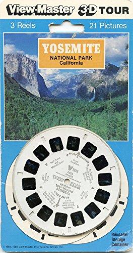 ViewMaster - Yosemite National Park California - 3 Reels on Card - NEW