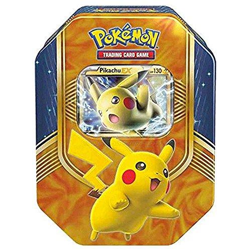 Pokemon TCG Fall Battle Heart Tin Pikachu EX