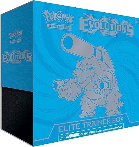 Pokemon XY Evolutions Mega Blastoise Elite Trainer Box