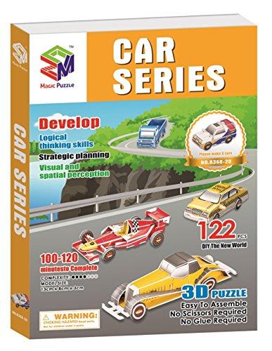 Car Series 3D Jigsaw Puzzle 122 Pieces by magic-puzzle