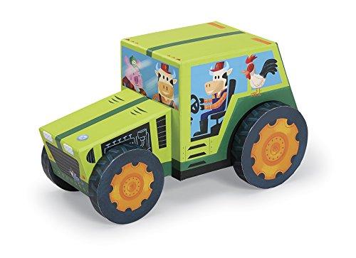 Crocodile Creek Farm Tractor 24 piece Jigsaw Puzzle  Vehicle Play Set