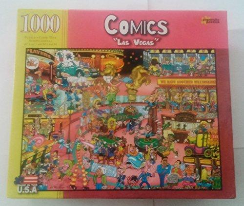 Comics Puzzle Las Vegas 1000pc by Papercity Puzzles