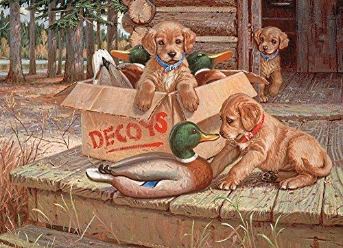 Cobble Hill Doggie Decoys Jigsaw Puzzle 1000-Piece