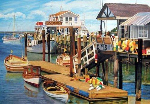 Cobble Hill Summer Pier 1000 Piece Puzzle
