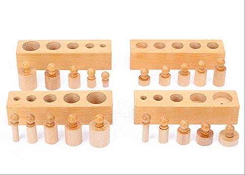 Educational toys Montessori sensory teaching tools wooden block geometric puzzle