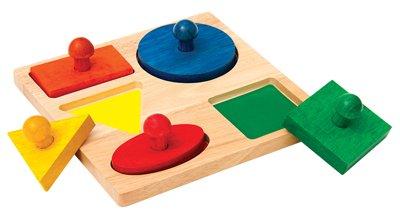 Geometric Puzzle Board Kids Children