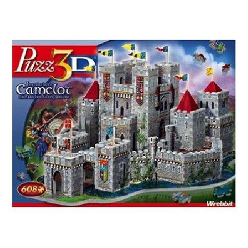 3D Camelot Castle Puzzle 608pc