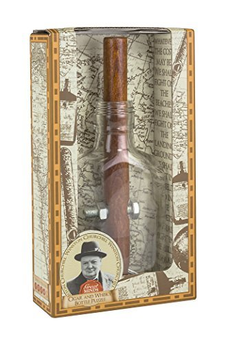 Great Minds Churchills Cigar and Whiskey Bottle Puzzle by Great Minds