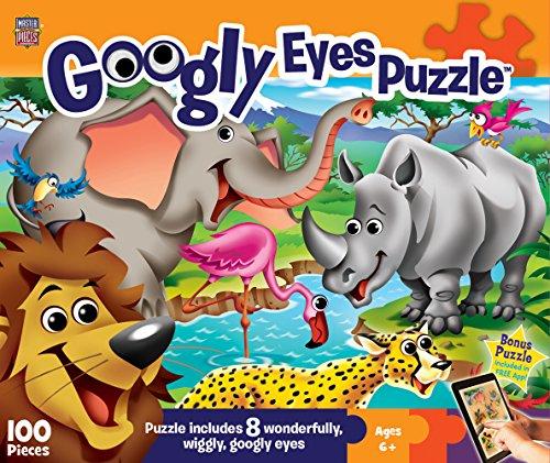 MasterPieces Googly Eyes Safari Puzzle 100 Piece