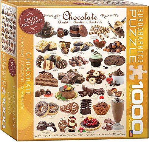 Chocolate Puzzle 1000-Piece