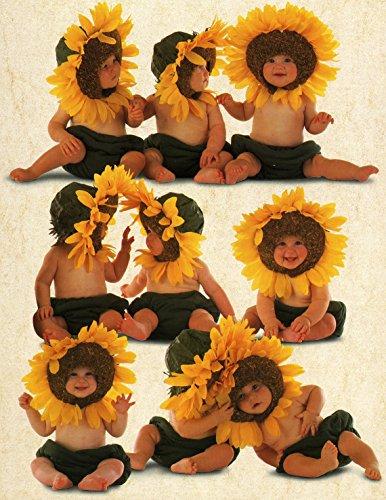 Ceaco Anne Geddes Sunflower Baby Jigsaw Puzzle 550-Piece