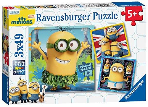 Ravensburger Minions Movie Jigsaw Puzzles 3 x 49-Piece