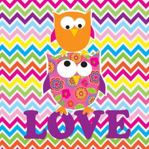 Andrews  Blaine Owl Love You Glitter Jigsaw Puzzle 210-Piece