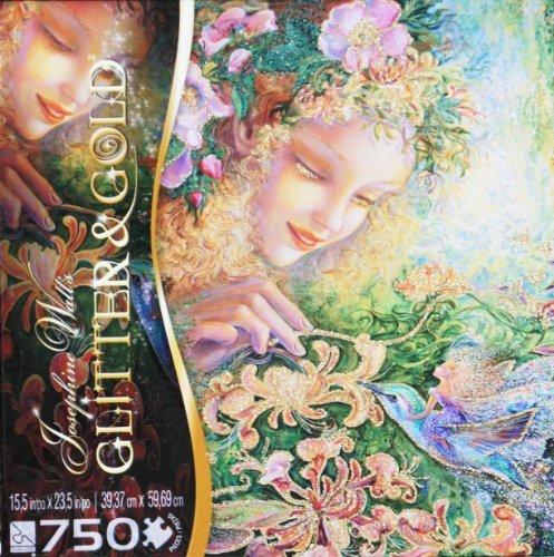 Josephine Walls GLITTER GOLD Puzzle Honeysuckle 750 Piece Puzzle