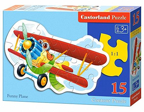 Castorland Funny Plane Puzzle 15 Piece