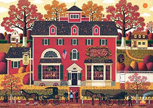 300 Piece Charles Wysocki Benjamins Music Store Jigsaw Puzzle