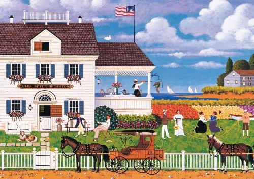300 Piece Charles Wysocki Tea by The Sea Jigsaw Puzzle